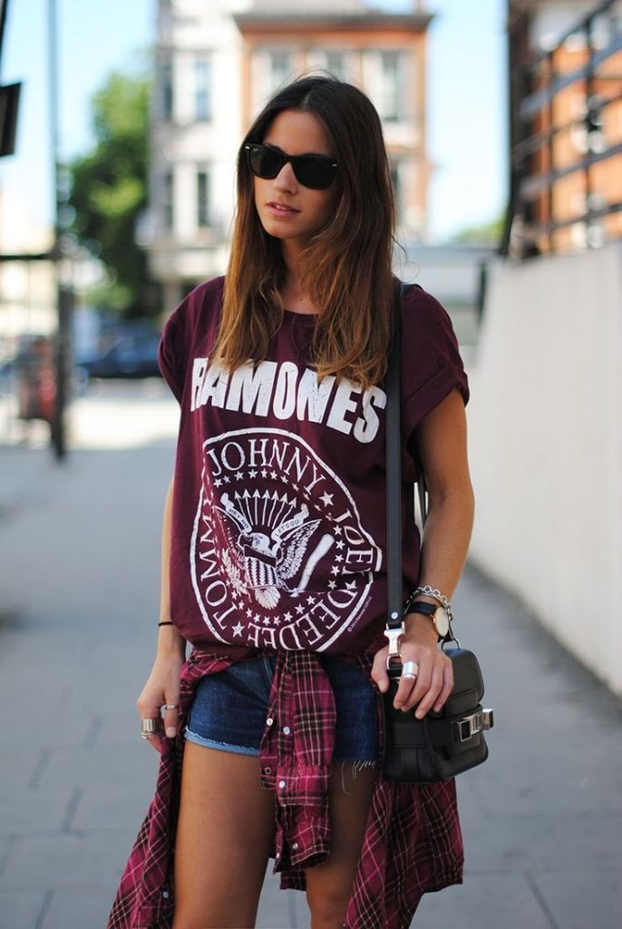 ramones-tshirt-and-shorts